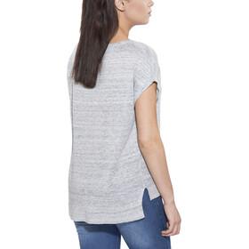 Patagonia Lightweight Linen T-shirt zippé Femme, tailored grey